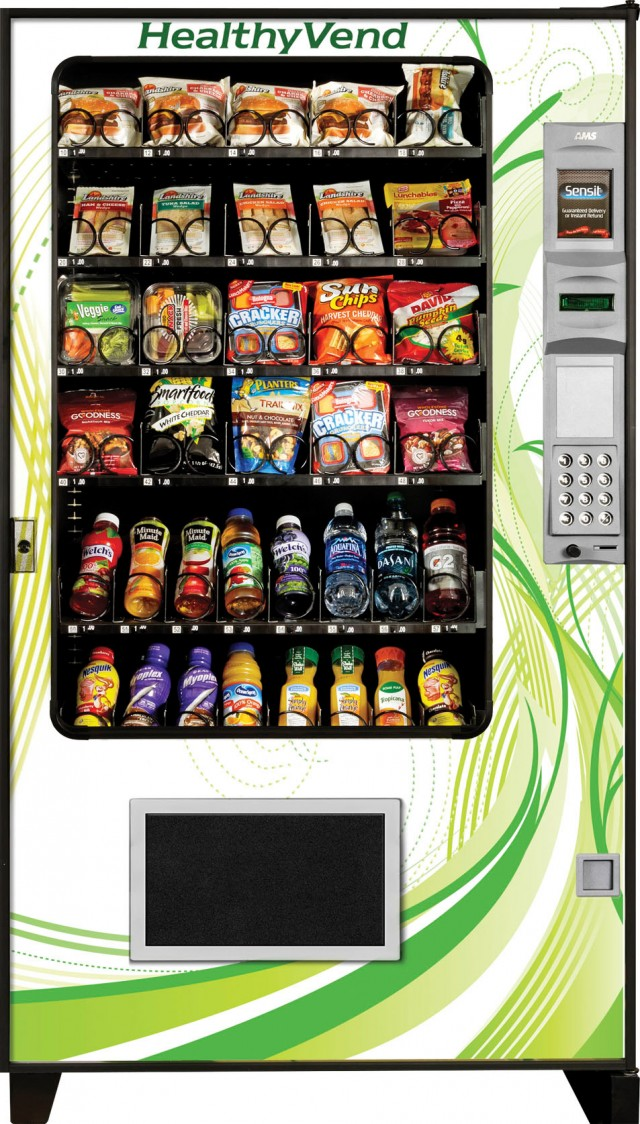 AMS Healthy Vend Snack & Combo